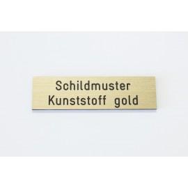 Schild mit Gravur ab 9x4 cm (versch. Farben)
