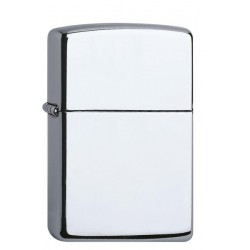 Zippo Chrome high polished 1.021.250 mit individueller Namensgravur