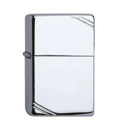 Zippo Vintage Chrome high polished 1.026.003 mit individueller Namensgravur