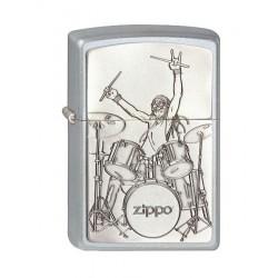 Zippo Drummer 2.003.071 mit individueller Namensgravur
