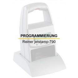 Programmierung Reiner jetStamp 790