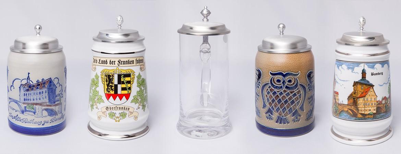 Wir führen wunderschöne Bierkrüge - graviert das ideale Geschenk