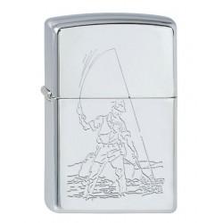Zippo Fisherman 1.110.006 mit individueller Namensgravur