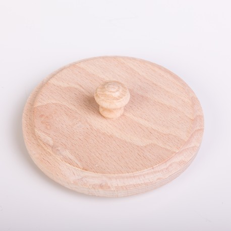Bierdeckel aus Holz für 0,5 l Seidl