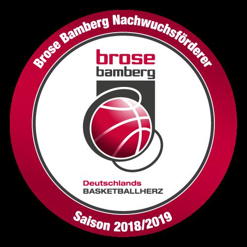Wir sind Nachwuchsförderer der Brose Baskets