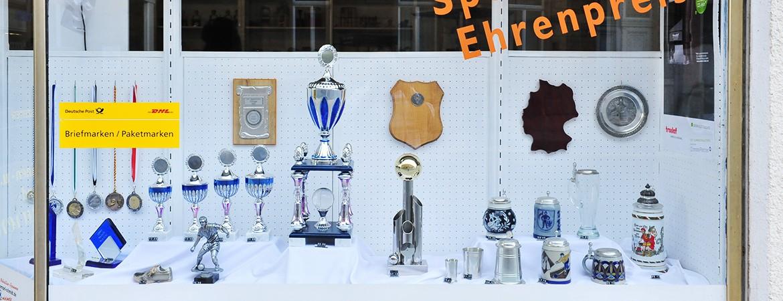 Wir führen Pokale, Medallien und Geschenke aller Art und gravieren diese für Sie!